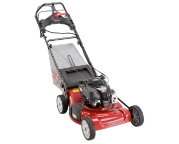 White Lawn Mower J836L