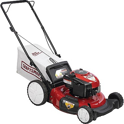 Craftsman 21 190cc Rear-Bag Push Lawn Mower