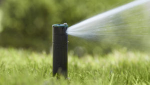 Underground sprinkler systems